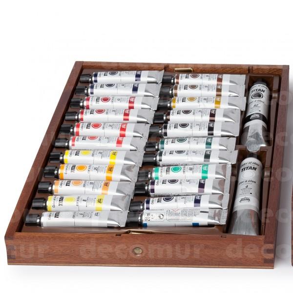 Caja Titan Oleo Extrafino 24-OL