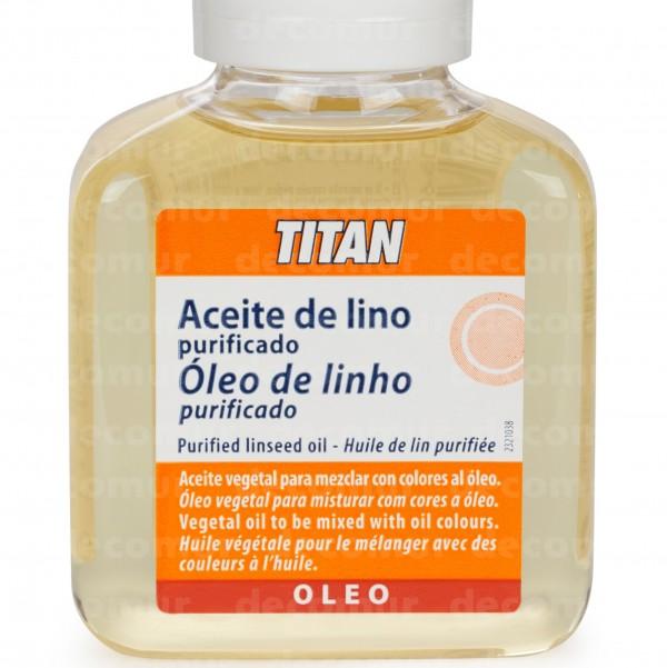 Aceite de Lino purificado 100 ml