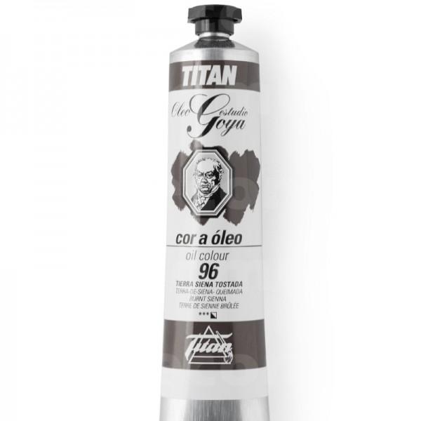 Goya Estudio Oleo Serie 1 Burnt Sienna 96 60ml