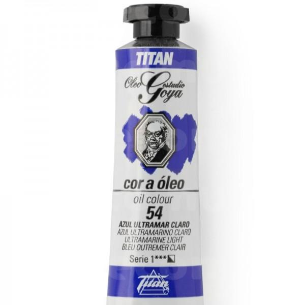 Goya Estudio Oleo Serie 1 Azul Ultramar Claro 54 20ml
