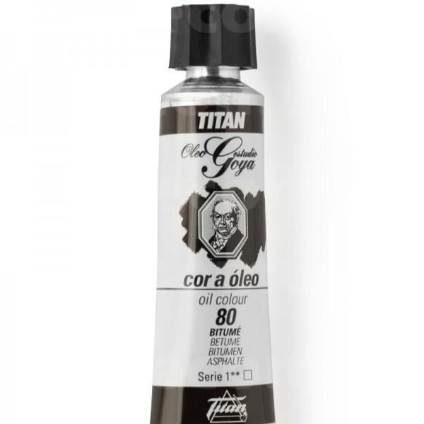 Goya Estudio Oleo Serie 1 Bitumé 80 20ml