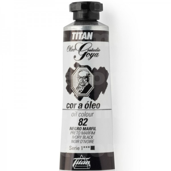 Goya Estudio Oleo Serie 1 Negro Marfil 82 20ml