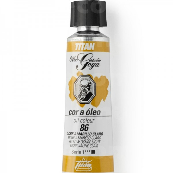 Goya Estudio Oleo Serie 1 Ocre Amarillo Claro 86 20ml