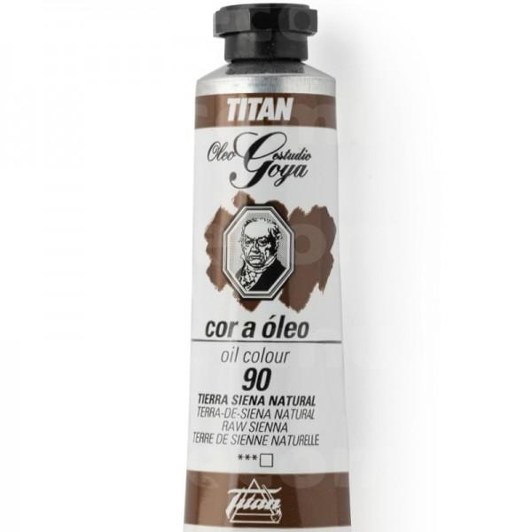 Goya Estudio Oleo Serie 1 Tierra Siena Natural 90 20ml