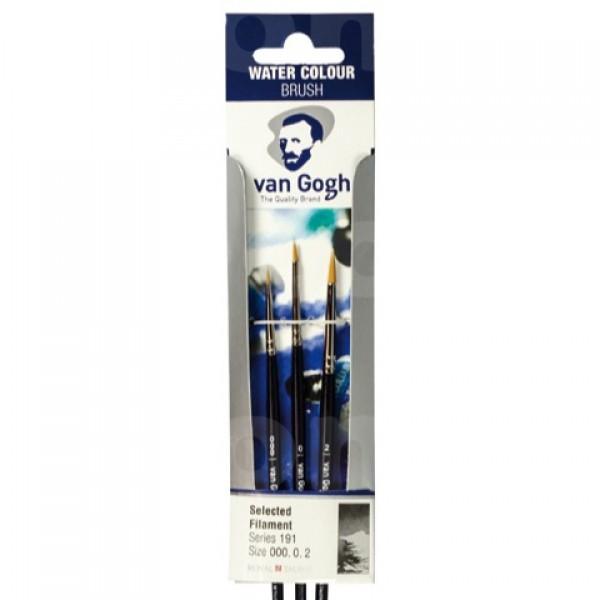 Van Gogh set de pinceles para acuarela serie 191 (n.º 000-0-2)