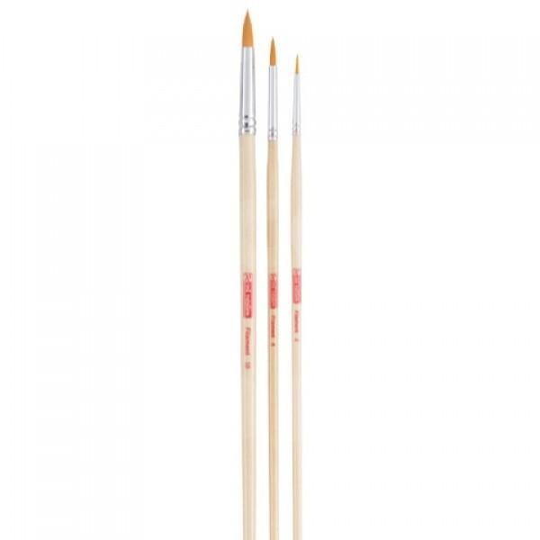 Talens Art Creation, set pinceles poliéster (3 pinceles, redondo)