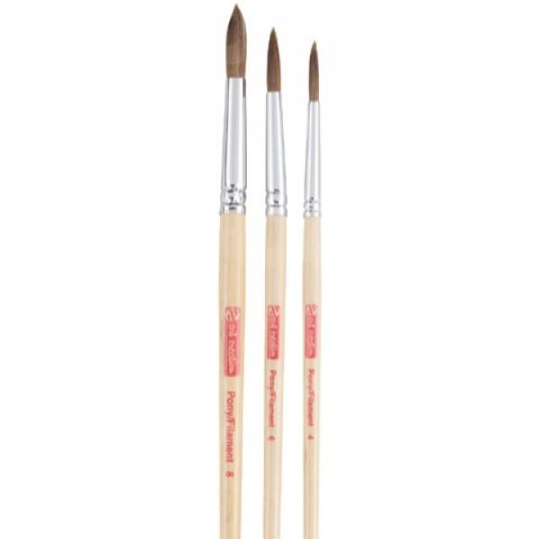 Talens Art Creation, set pinceles pelo de poni / filamento (3 pinceles)
