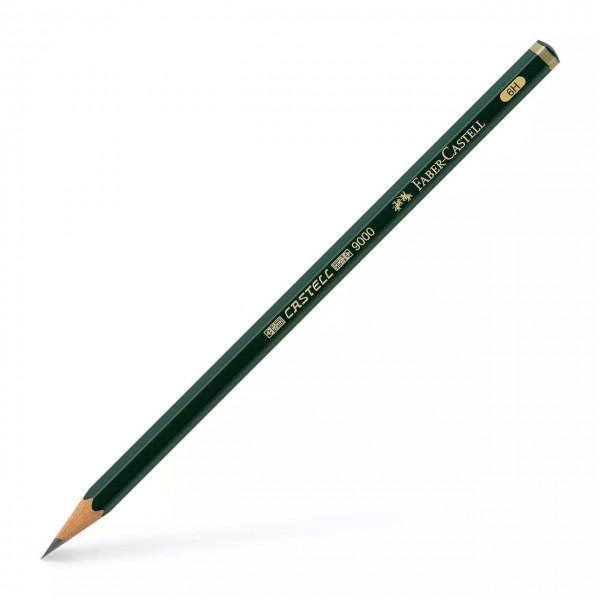Faber Castell - Lápiz de grafito 9000 - 6H