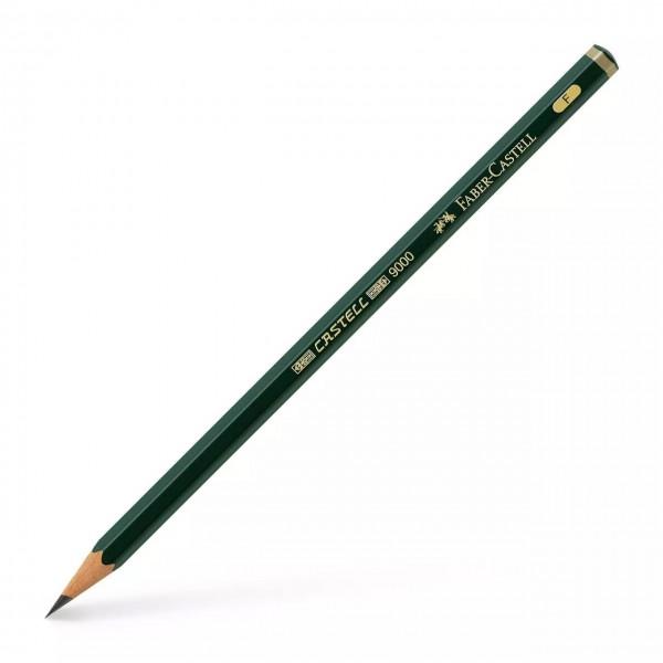 Faber Castell - Lápiz de grafito 9000 - F