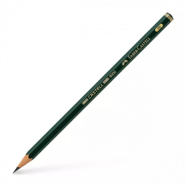 Faber Castell - Lápiz de grafito 9000 - 2B