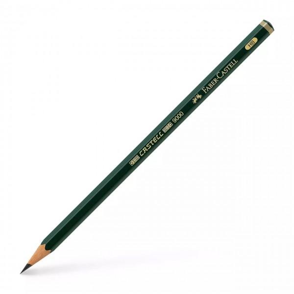 Faber Castell - Lápiz de grafito 9000 - HB