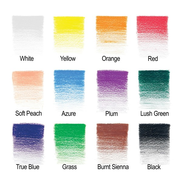 Winsor & Newton - Caja de Lápices - Lápices de color - 12 lápices