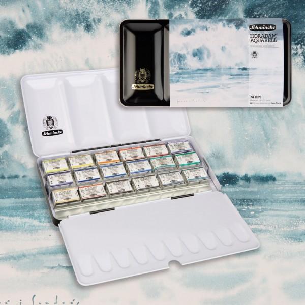 Schmincke - Caja de Acuarela HORADAM® AQUARELL 74829 Cesc Farré