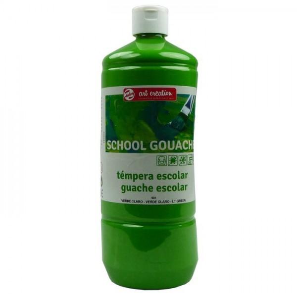 Art Creation - Témpera Gouache 601 Verde Claro - 1L