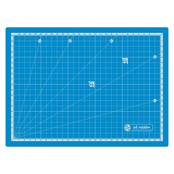 Art Creation - Tabla de corte Azul 30x22 cm