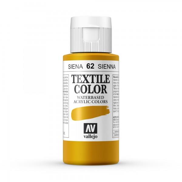 Pintura Textil Color Vallejo Número 62 - Color: Siena - 60ml