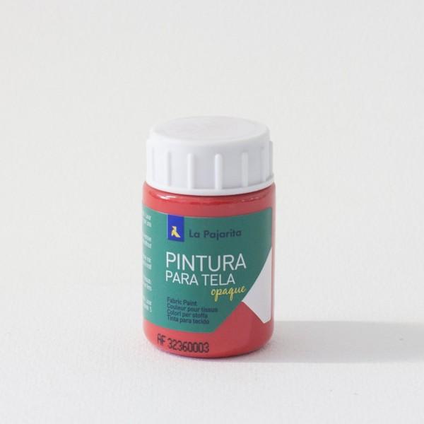 Pintura Textil La Pajarita TO-06 Rojo - 35 ml