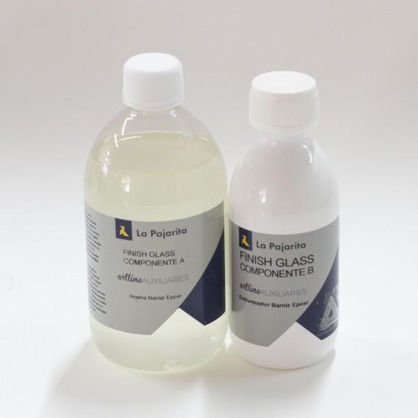 La Pajarita - Barniz Epoxi dos componentes efecto cristal - 750 ml