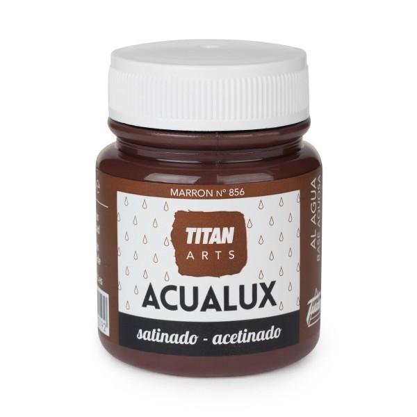 Acualux Satinado 100ml Marrón 856