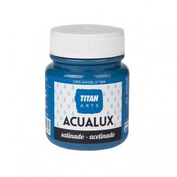 Acualux Satinado 100ml Gris Naval 844