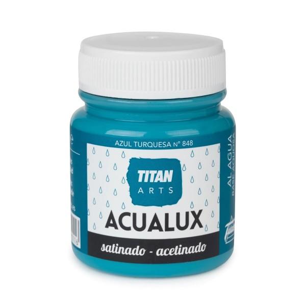 Acualux Satinado 100ml Azul Turquesa 848
