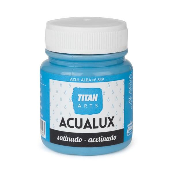 Acualux Satinado 100ml Azul Alba 849