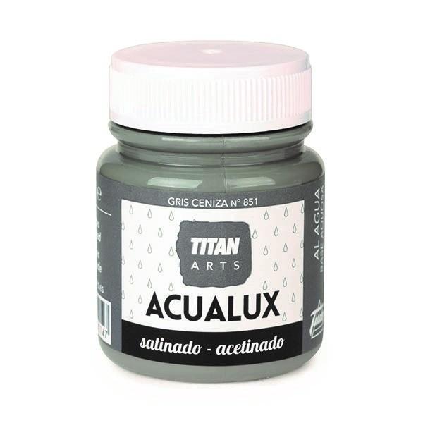 Acualux Satinado 100ml Gris Ceniza 851