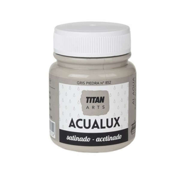 Acualux Satinado 100ml Gris Piedra 852