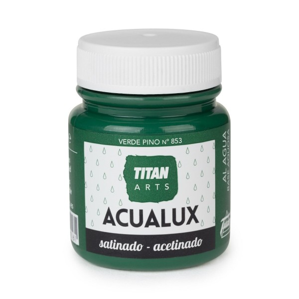 Acualux Satinado 100ml Verde Pino 853