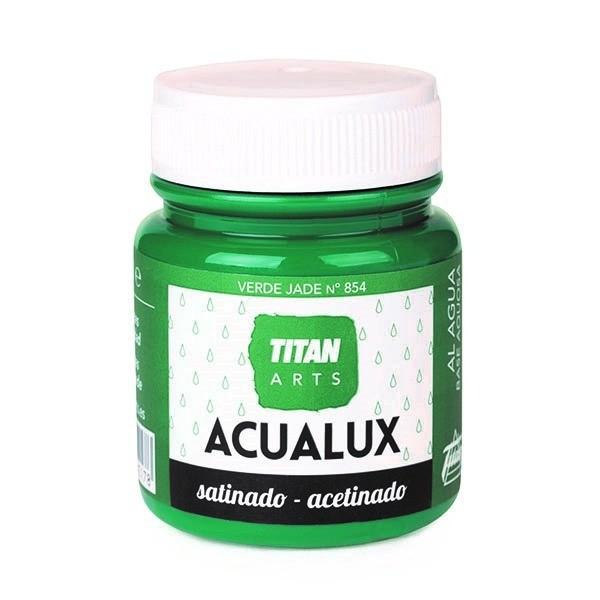 Acualux Satinado 100ml Verde Jade 854