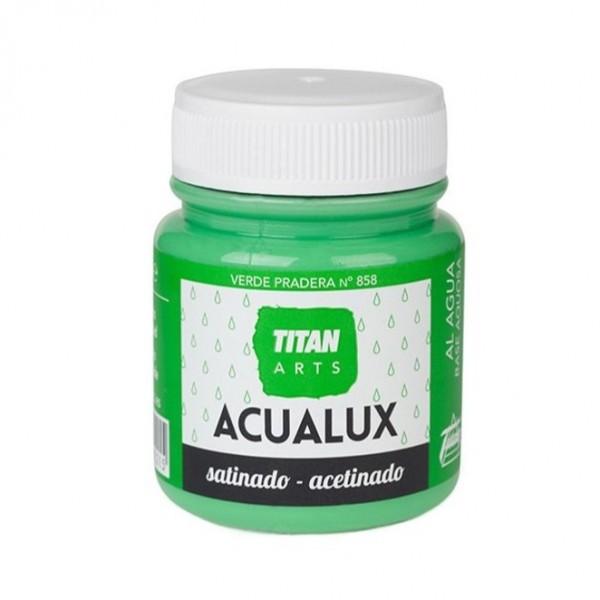 Acualux Satinado 100ml Verde Pradera 858