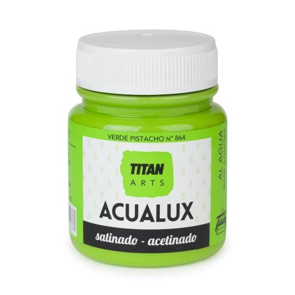 Acualux Satinado 100ml Verde Pistacho 864