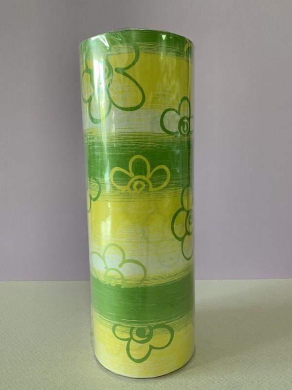 Papel de Regalo - Green Flower