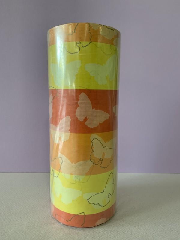 Papel de Regalo - Orange Butterfly