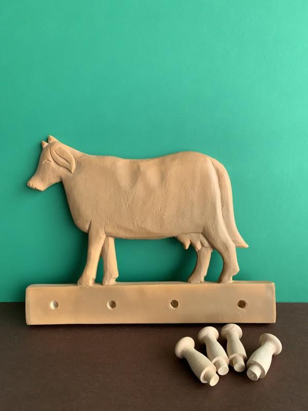 Perchero vaca