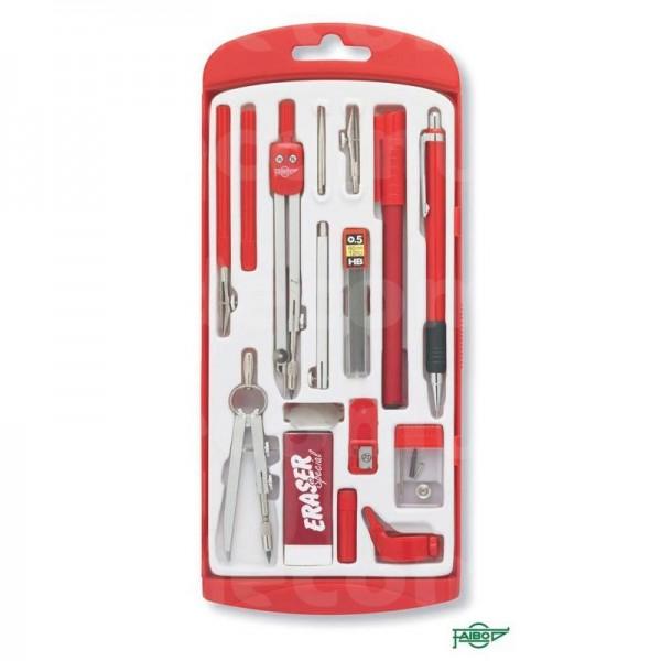 Compas Kit Grande Rojo