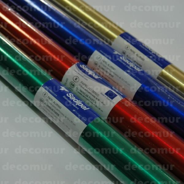 Rollo Papel Metalizado de 25 H de 50x65 cm